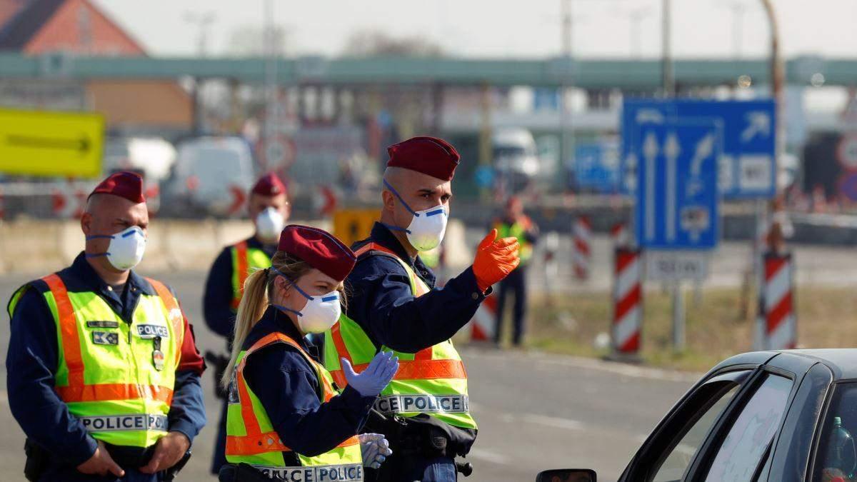 В Угорщині змінять правила перетину кордону через пандемію