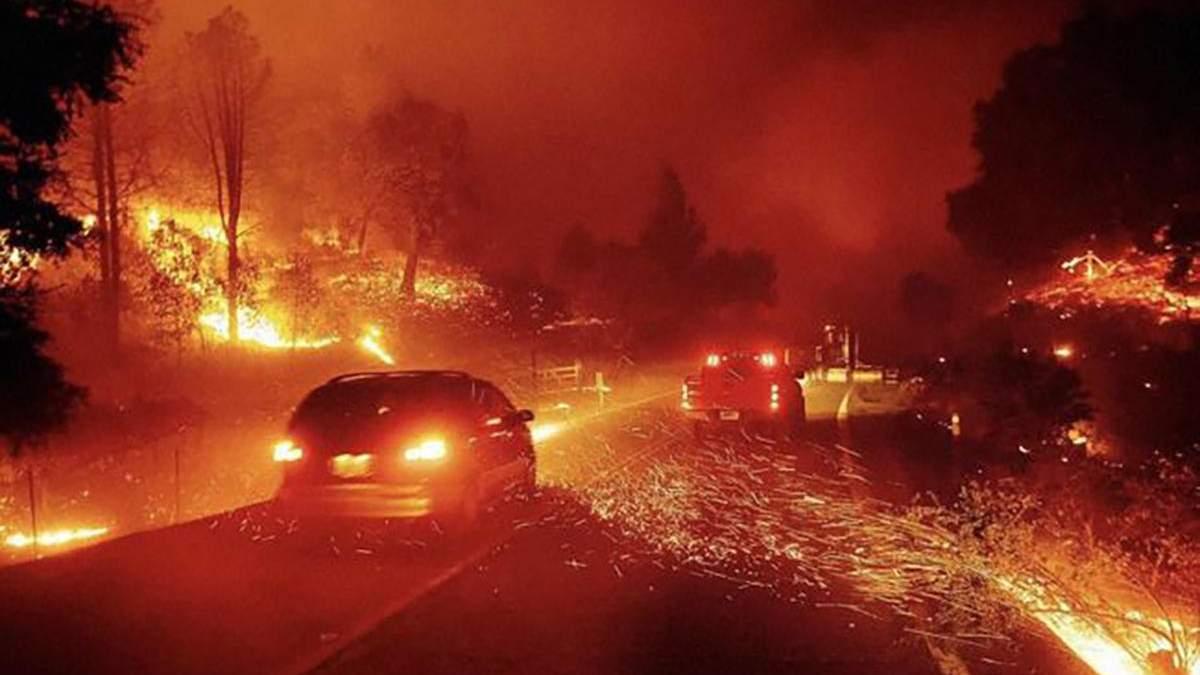 Лесные пожары в Калифорнии 2020: что известно, фото и видео