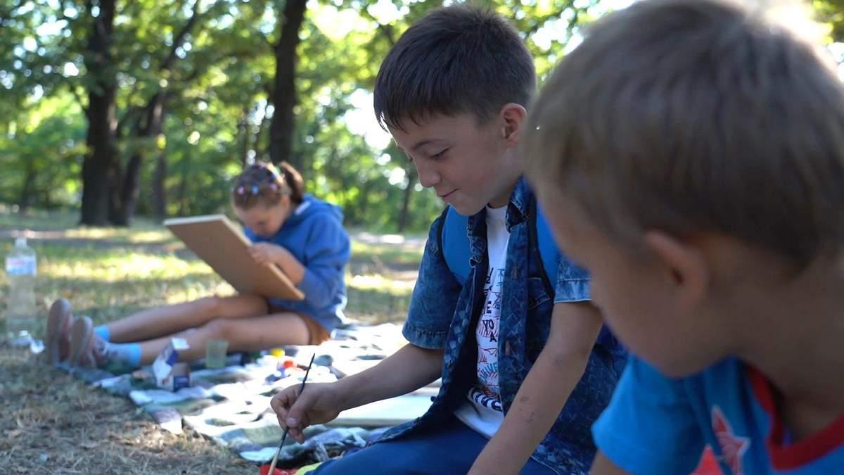 Фонд Голоси дітей: підтримка дітей на Донбасі