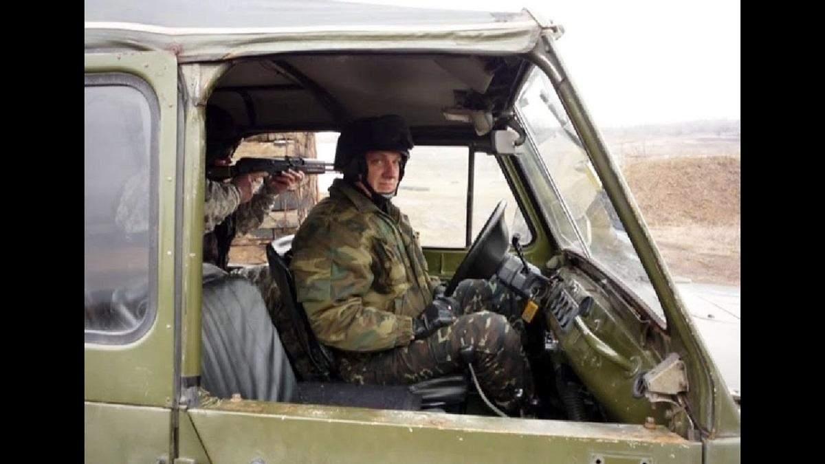 Під Полтавою створили мурал першому загиблому у війні на Донбасі: фото