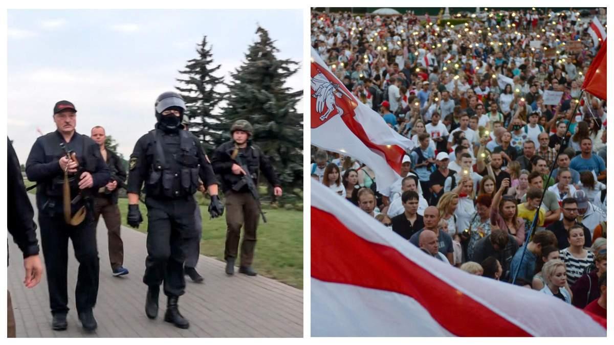 Автомати проти мирних протестувальник: чому Лукашенко вже програв?