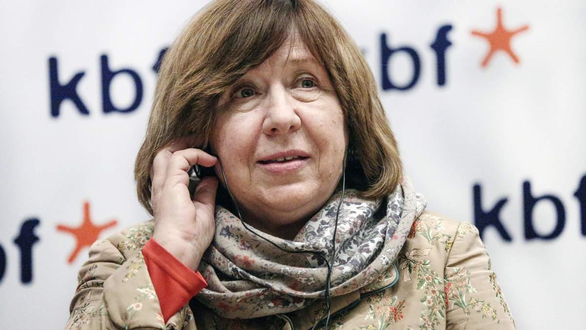 В Беларуси допросили нобелевского лауреата Светлану Алексиевич: главное из ее речи