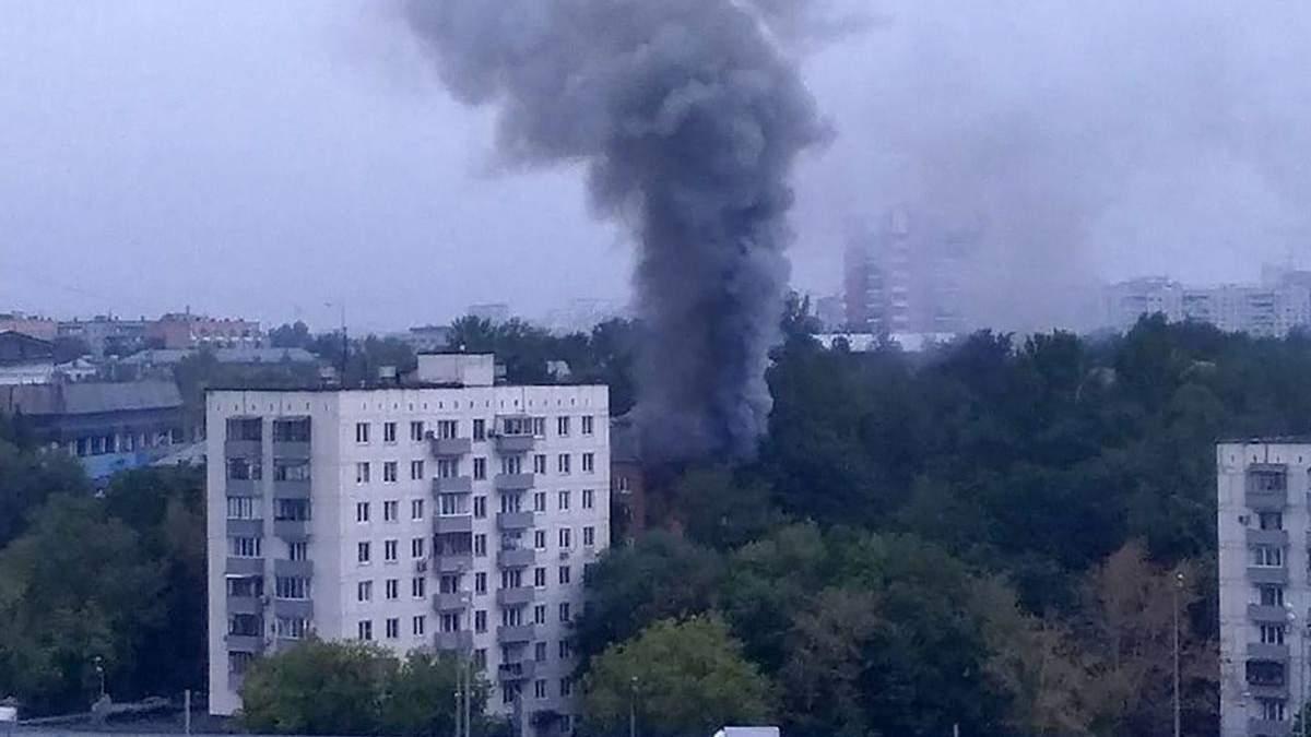 Вибух у житловому будинку в Москві: є постраждалі – фото, відео