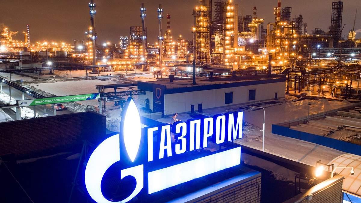 """""""Газпрому"""" глубже ныряет в кризис"""