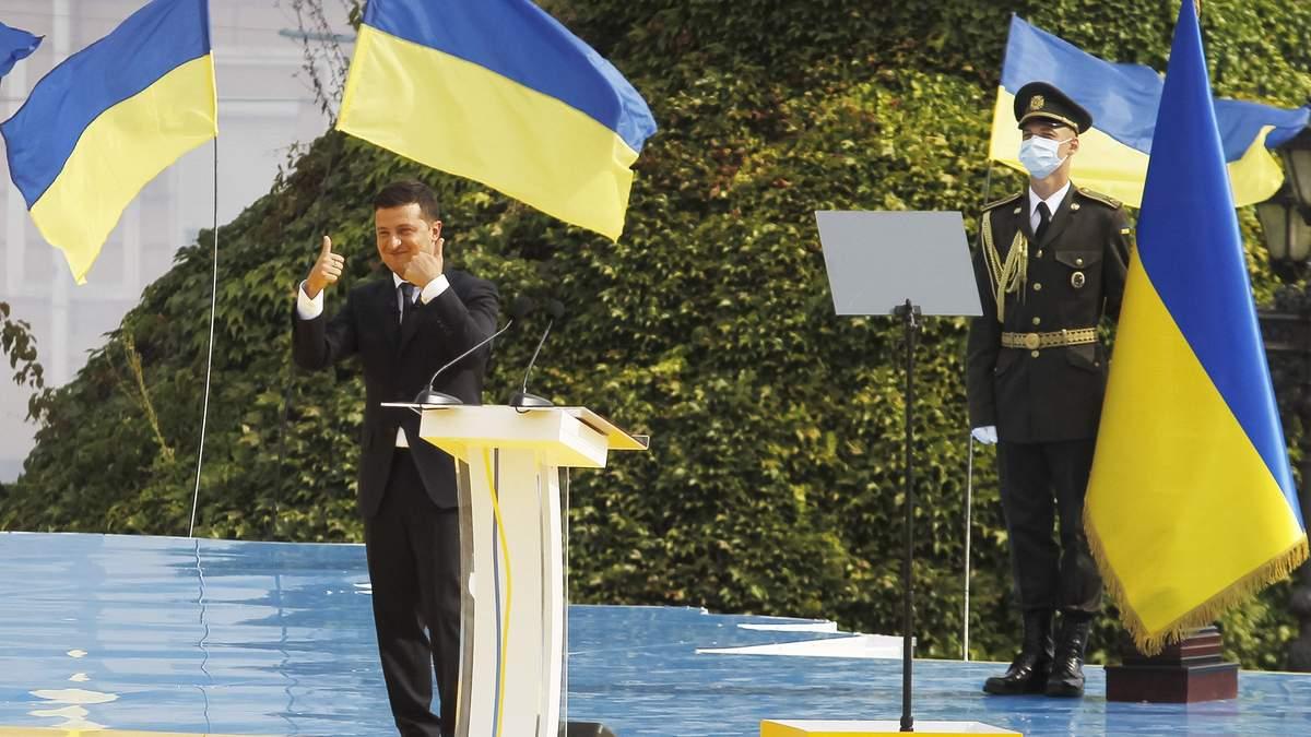 Попурі на День Незалежності 2020: Офіс Президента дав коментар