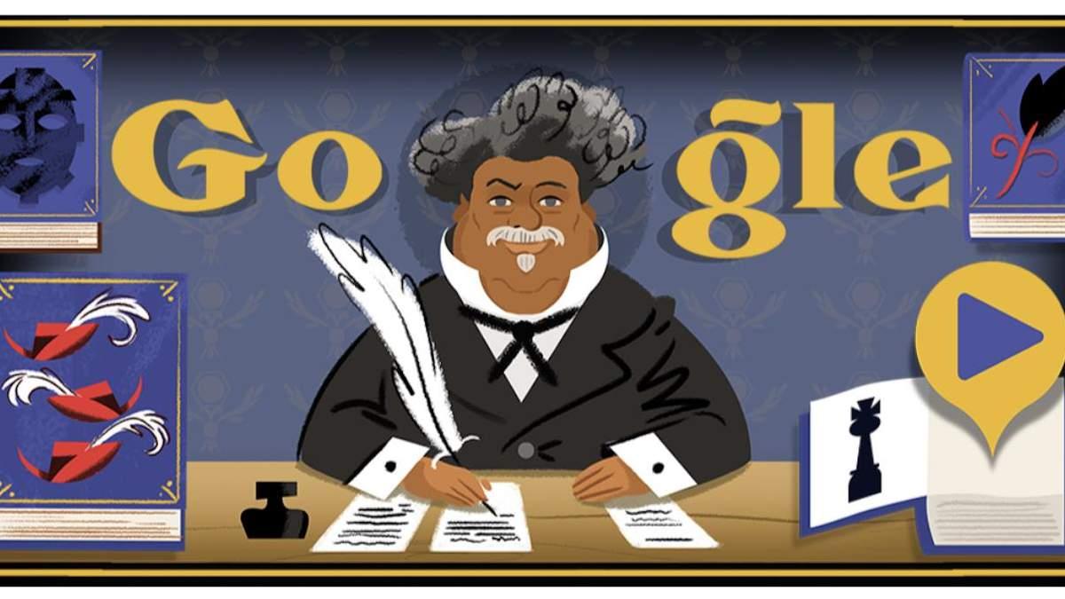 Новый дудл от Google: 28 августа мир узнал о графе Монте-Кристо