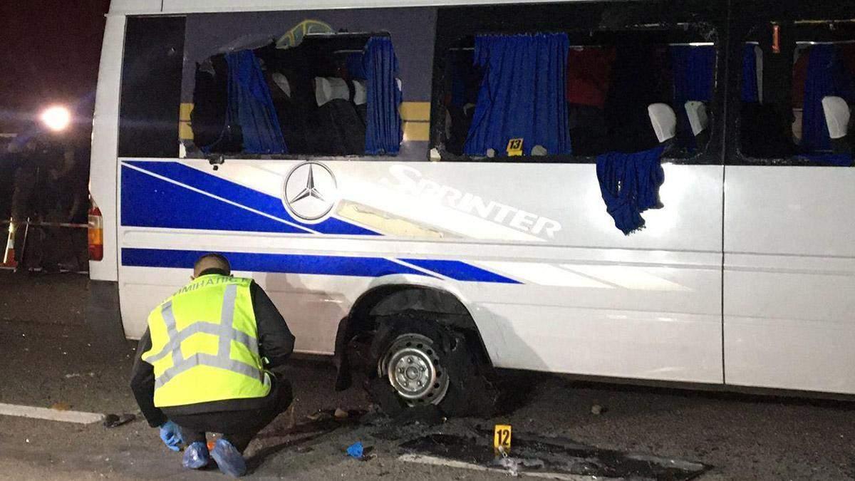 Розстріл автобуса під Харковом: в якому стані постраждалі