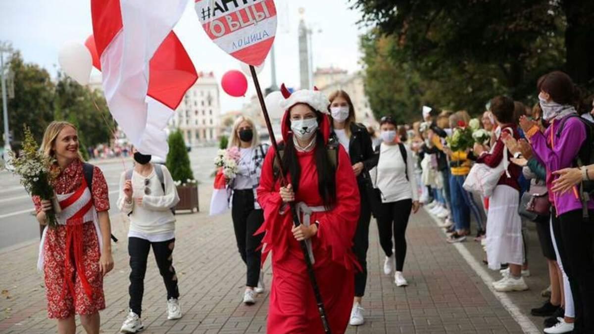 Новости Беларуси, протесты 29 августа 2020: видео, что происходило