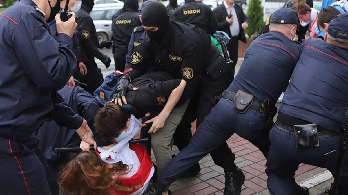 Новини Білорусі сьогодні, 1 вересня 2020: відео протестів