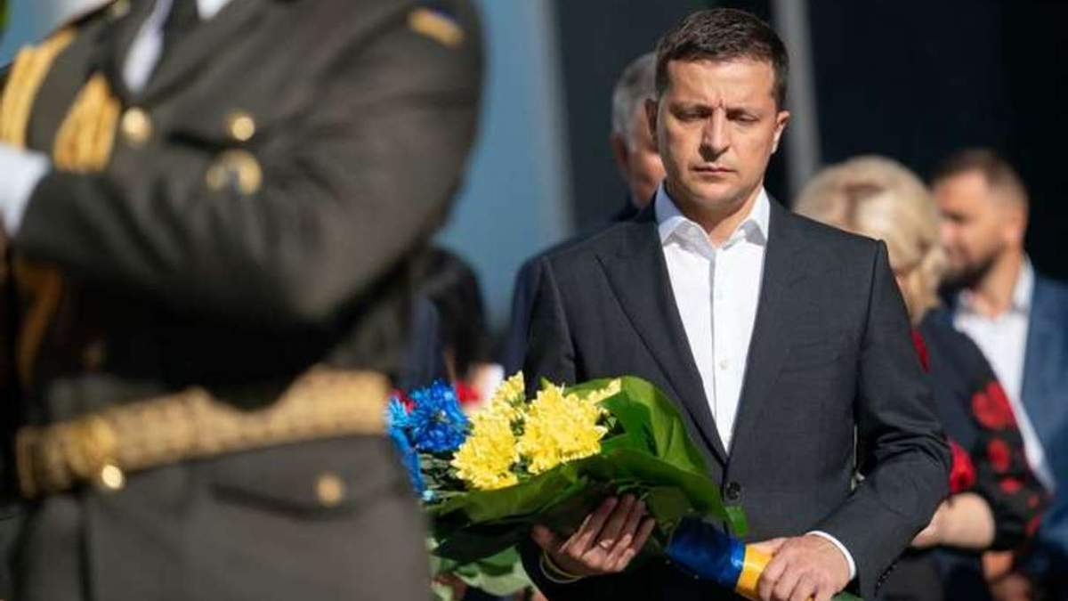 Зеленский почтил память погибших защитников Украины: видео