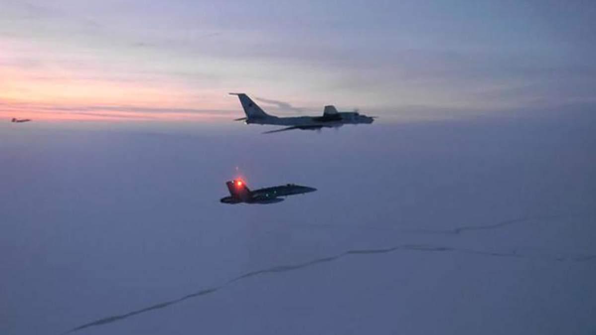 Истребители США перехватили военные самолеты РФ возле Аляски