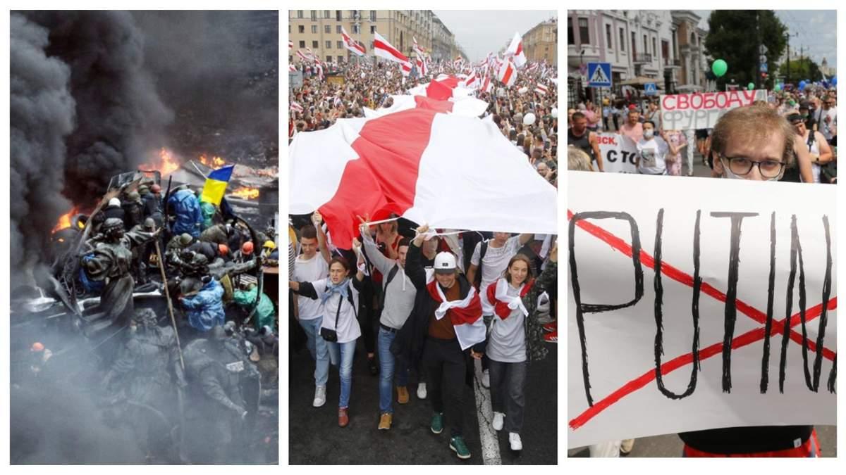 Час працює на диктатора: чому білоруси мають обрати між квітами і коктейлями Молотова?