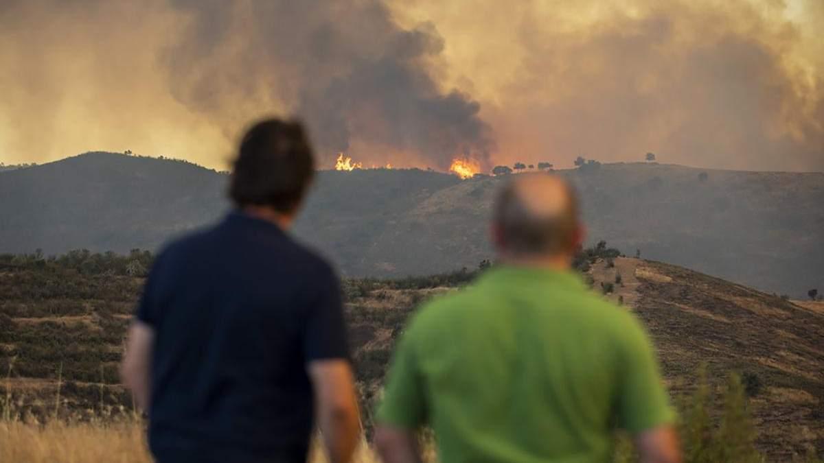 Пожежі в Іспанії 2020: тисячі людей евакуювали, фото, відео