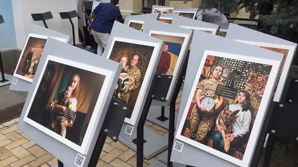 Історії українських військових у фотографіях: зворушливу експозицію представили у Києві