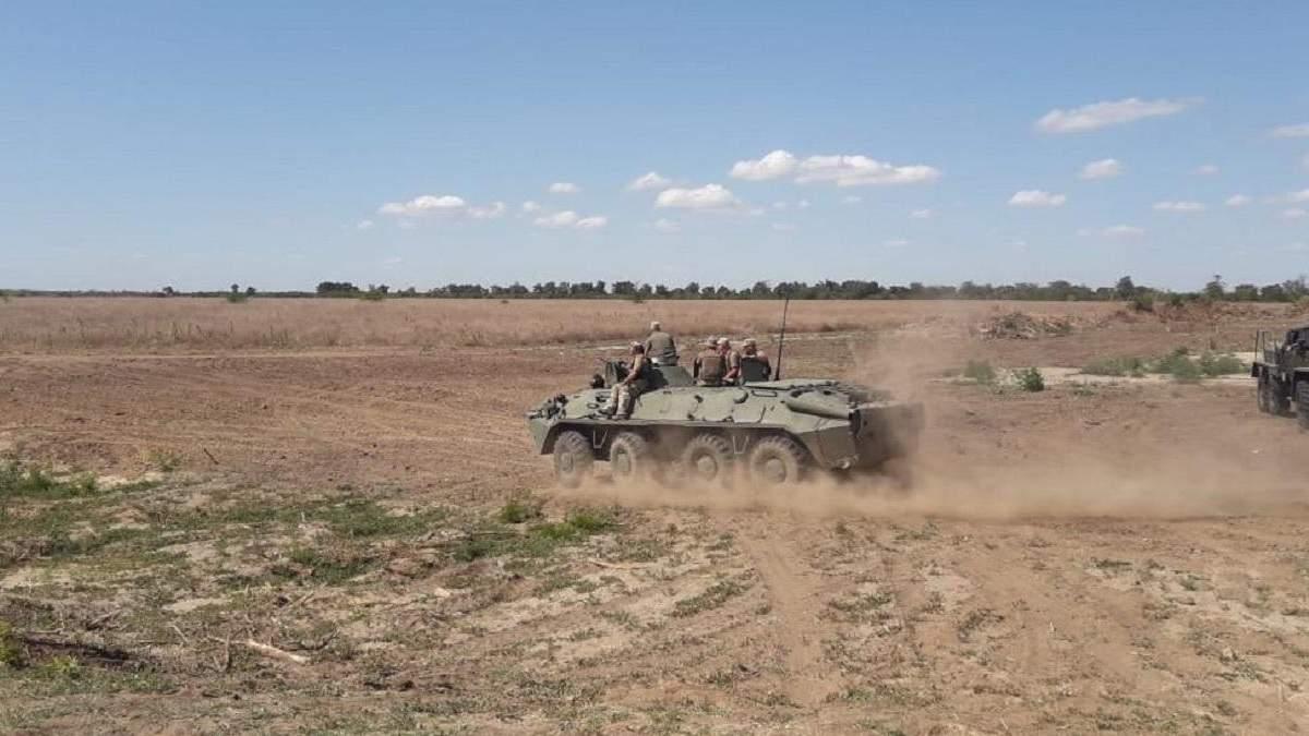 СБУ тренировалась отражать диверсионные атаки на границе с Крымом: фото