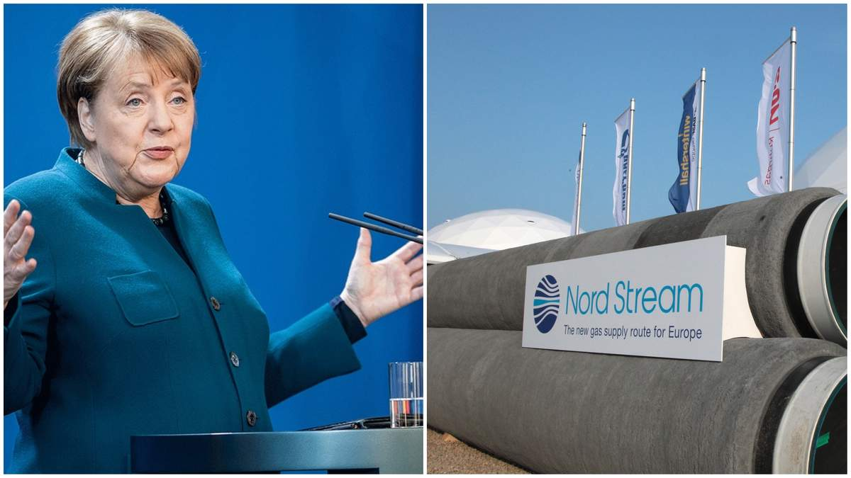 Меркель: Північний потік-2 добудують попри санкції США –24 канал