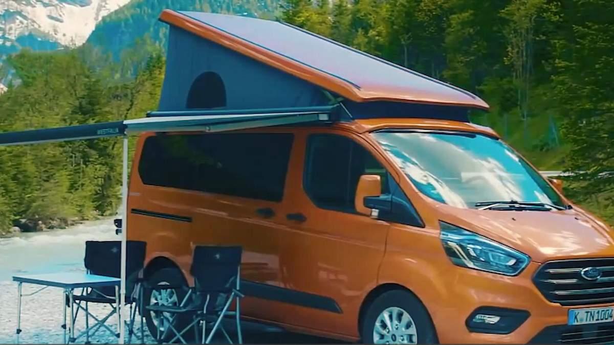 Дом на колесах: Ford представил авто для любителей путешествий