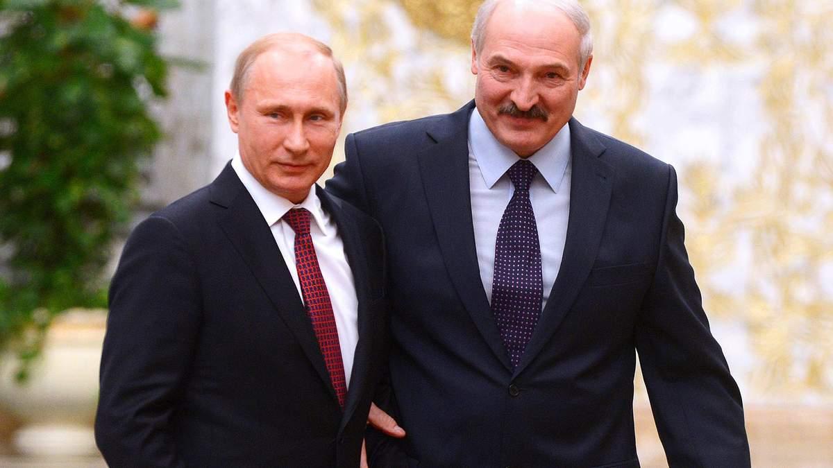 Апетити Путіна зросли: Москва готова боротися за всю Білорусь