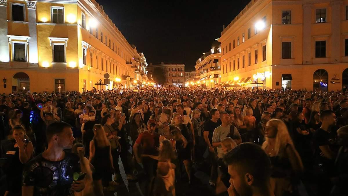 Святкування Дня Одеси 2 вересня 2020: реакція МОЗ, відео
