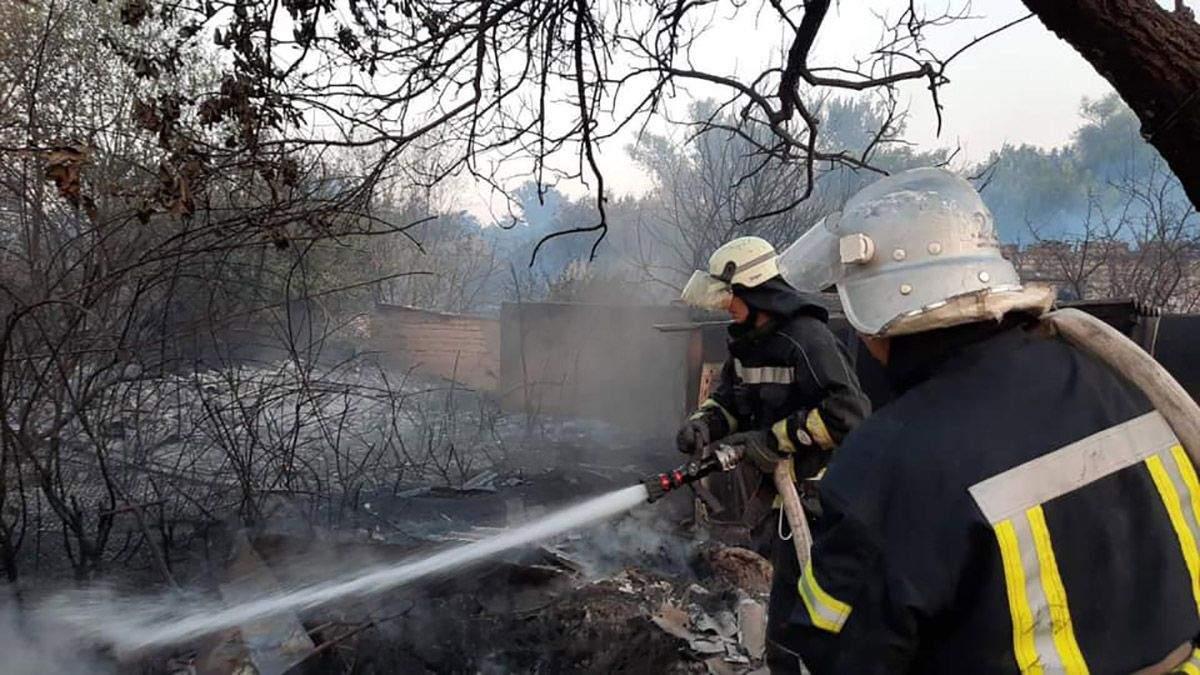 Постраждалим від пожеж на Сході України виплатять компенсацію