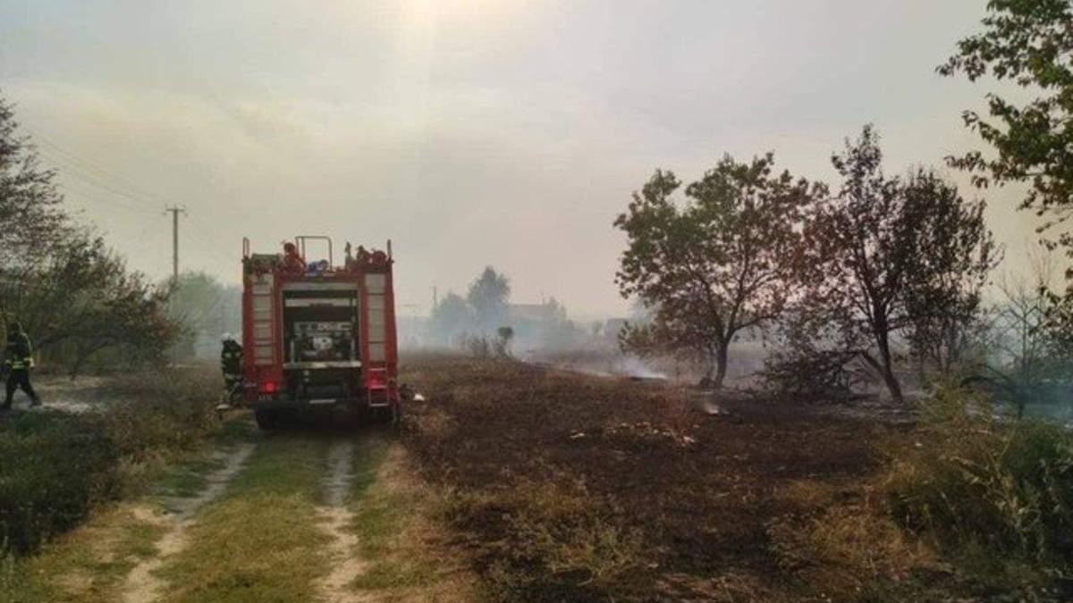Пожежі на Луганщині: загинув військовий Артем Бондаренко