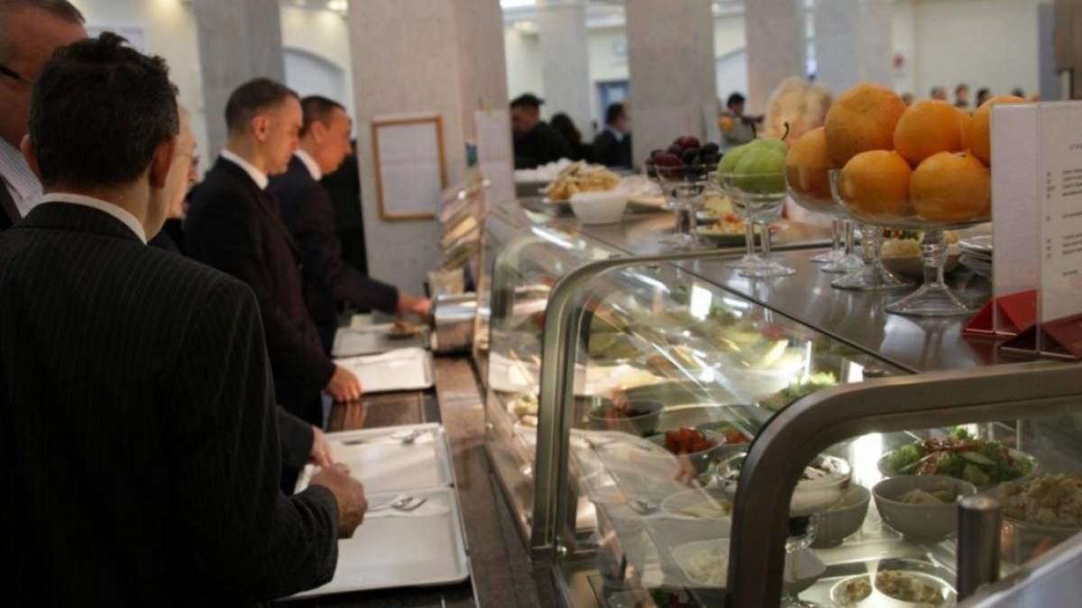Скільки коштує обід в їдальні Верховної Ради: фото меню