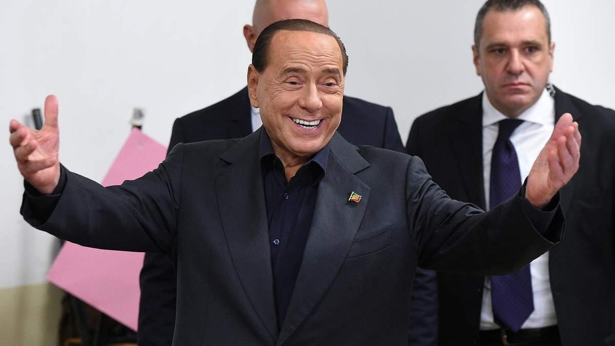 Сильвіо Берлусконі хворий на COVID-19: стан експрем'єра Італії