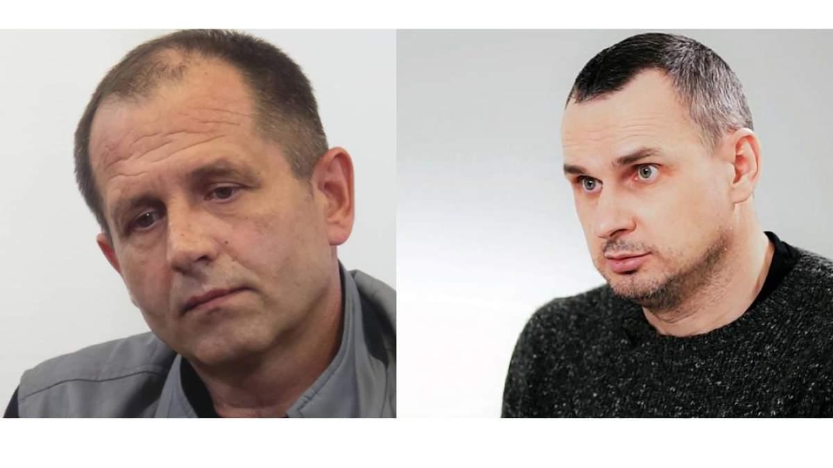 Сенцов і Балух проти постачання води у Крим