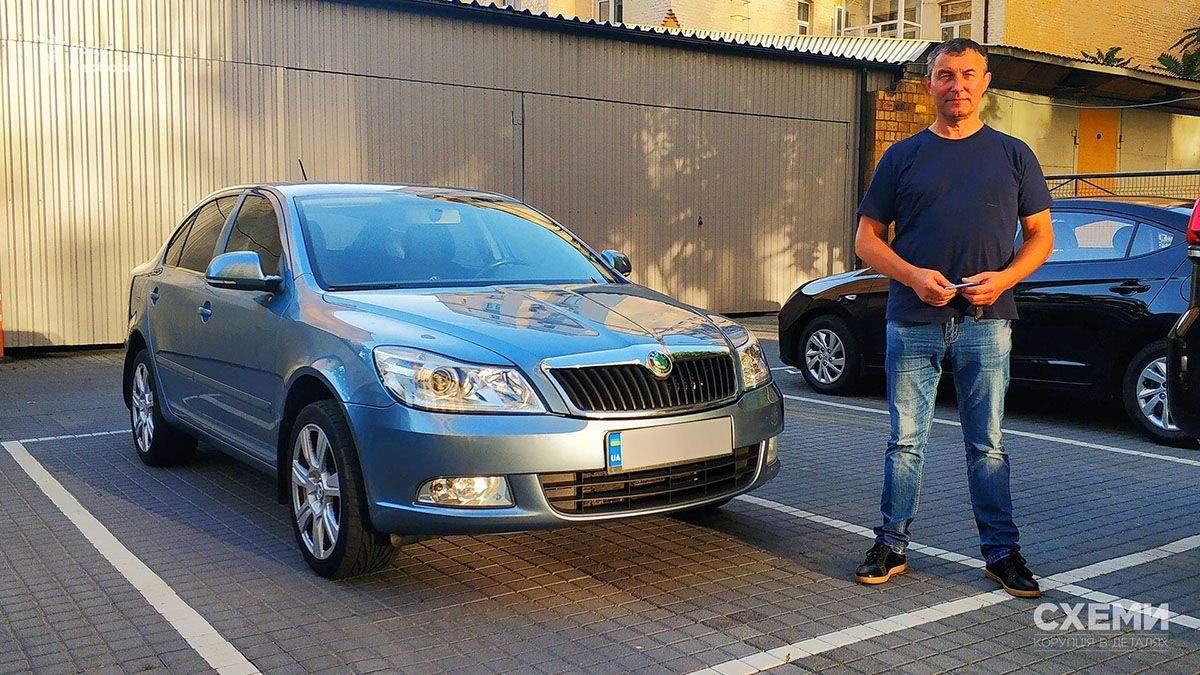 Підпал авто Схем: журналістам купили нову машину