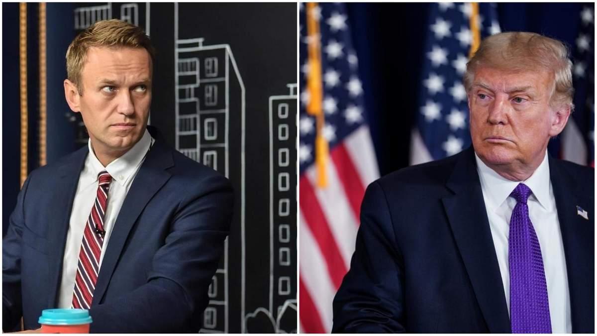 Трамп прокоментував справу про отруєння Навального