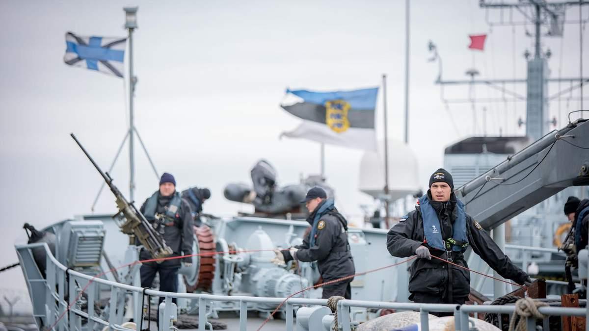 Росія збільшує активність у Балтійському регіоні: Естонія закупить морські міни