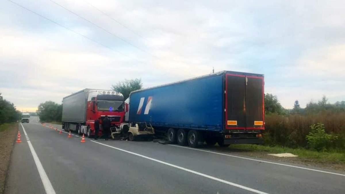 ДТП біля Коломиї, Івано-Франківська область, 5 вересня 2020: фото