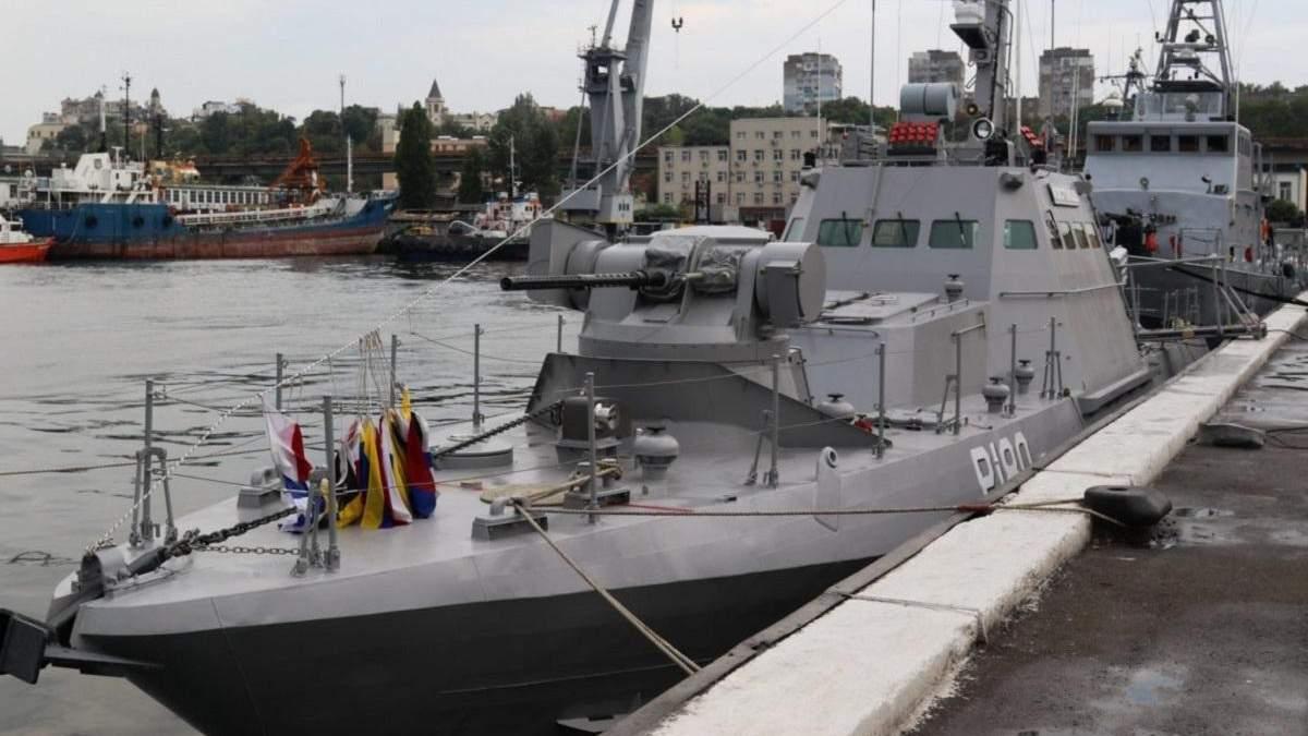 """ВМС України отримали катер """"Костопіль"""" – це сьоме судно типу """"Гюрза-М"""""""