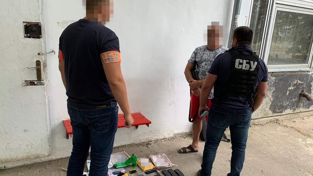 СБУ затримали організатора незаконного угруповання