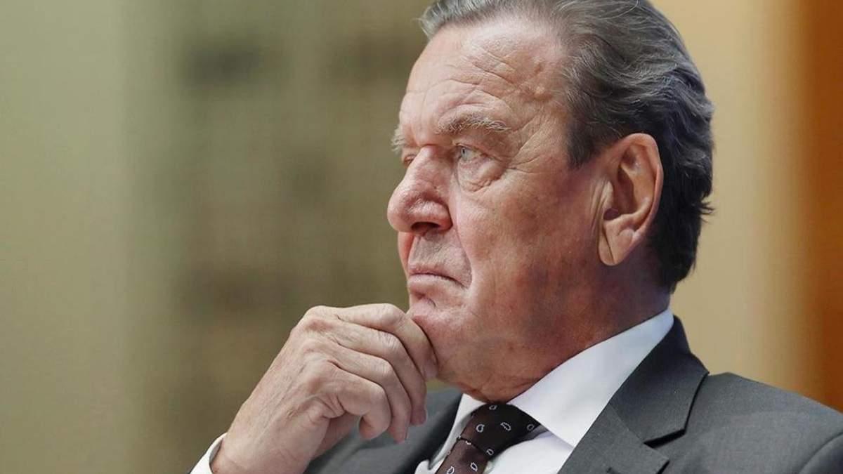 Німецький депутат закликав Шредера піти з бізнесу в Росії