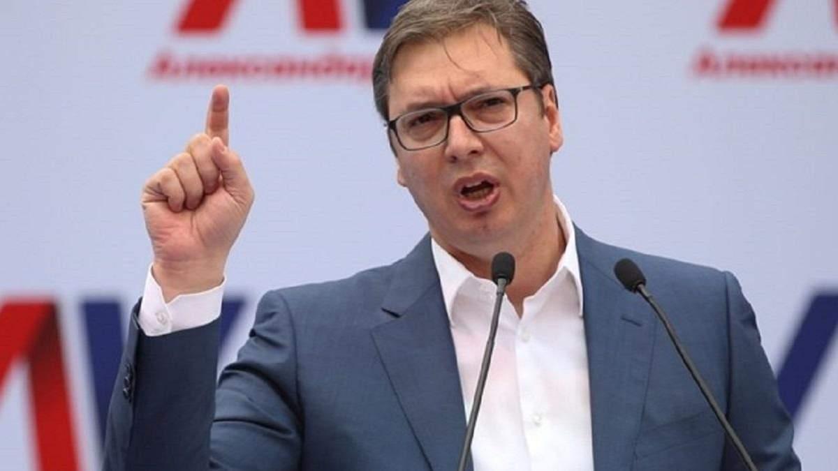 Скандал між Марією Захаровою і Александаром Вучичем: все, що відомо