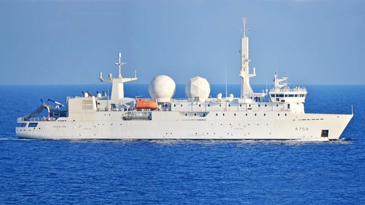 Розвідувальний корабель НАТО A-759 Dupuy de Lome увійшов у Чорне море: він уже тут не раз відзначався – фото