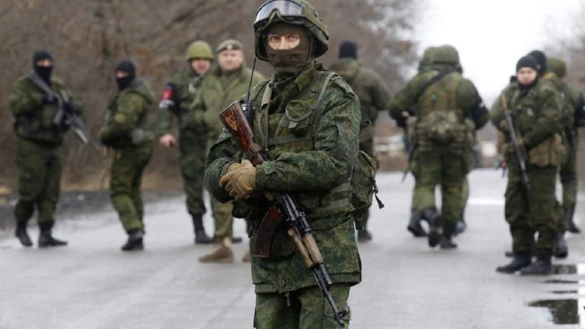 Российские боевики снова угрожают украинской армии