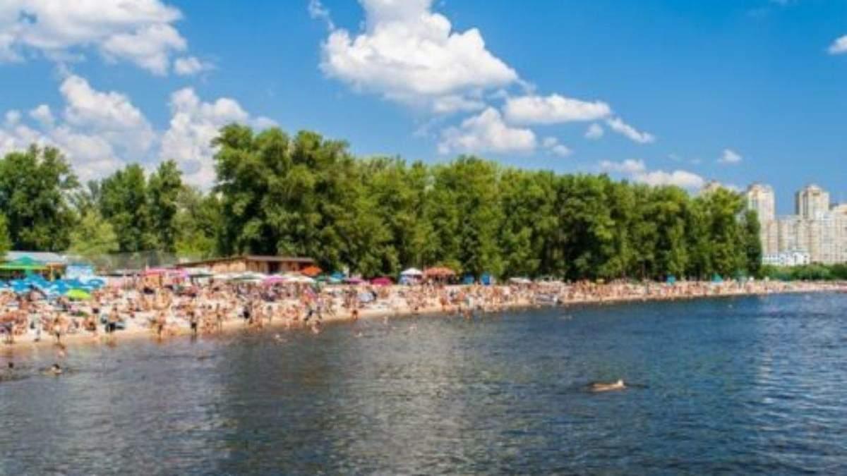 Пляжі Києва 2020 – де заборонено купатися: актуальний список