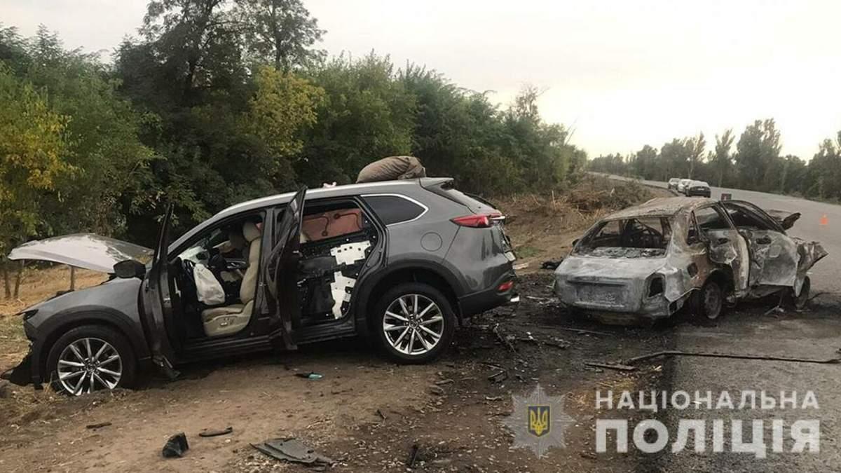 ДТП біля Степногірська, Запорізька область, 5.09.2020: фото
