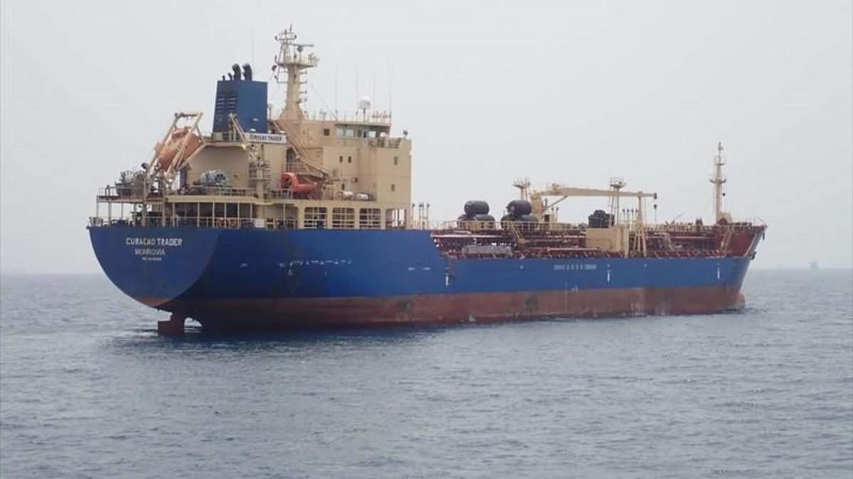 Судно Curacao Trader, яке у липні захопили пірати
