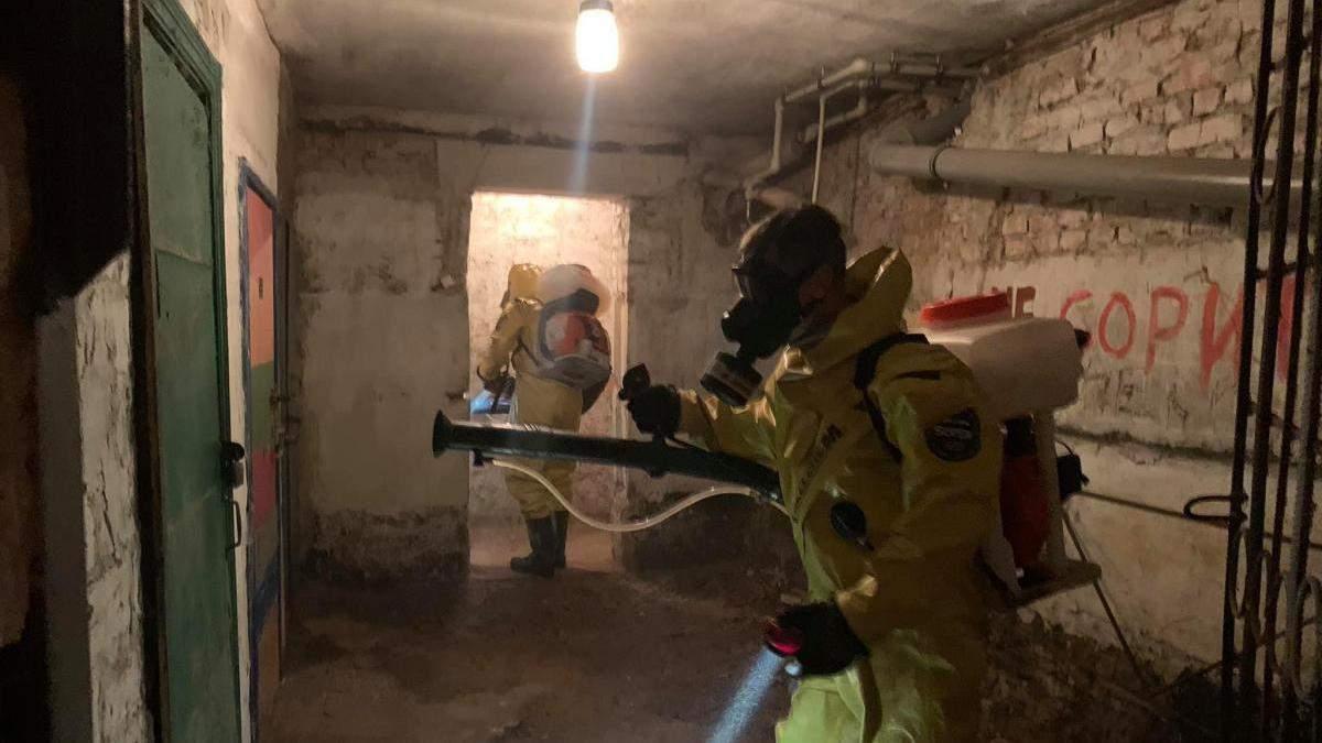 У багатоповерхівці в Полтаві виявили невідому хімічну речовину