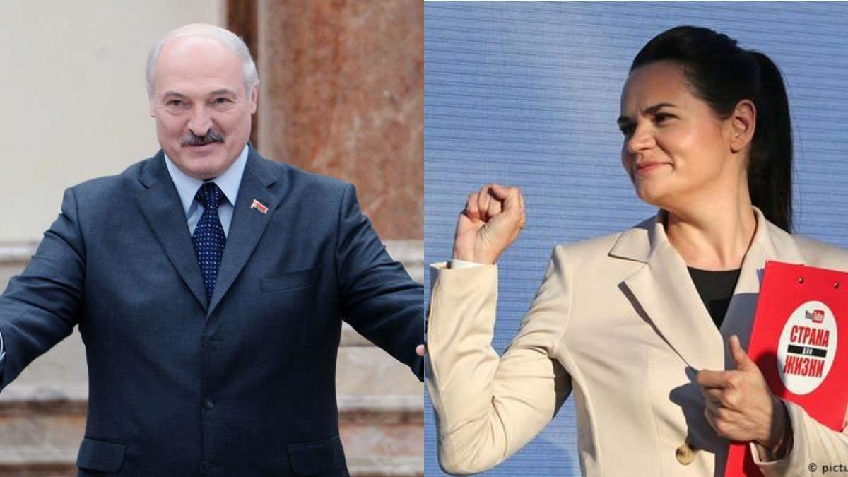 Тихановська заявила, що Лукашенко не може законно бути президентом Білорусі