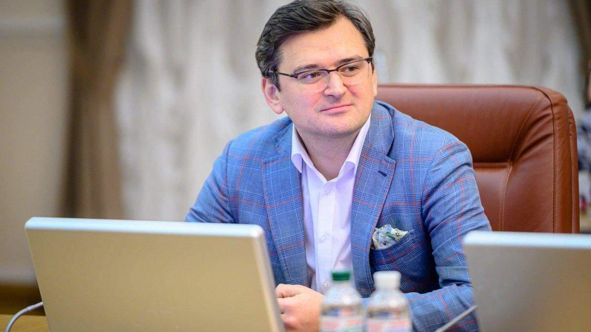 Кулеба прокоментував візит Родненкова і Кравцова до України