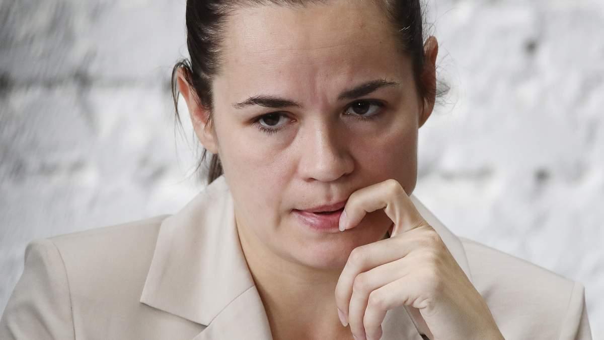 Тихановская записала видеообращение к россиянам