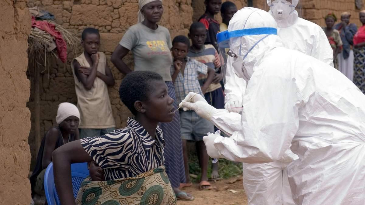 Тестирование на лихорадку в Африке
