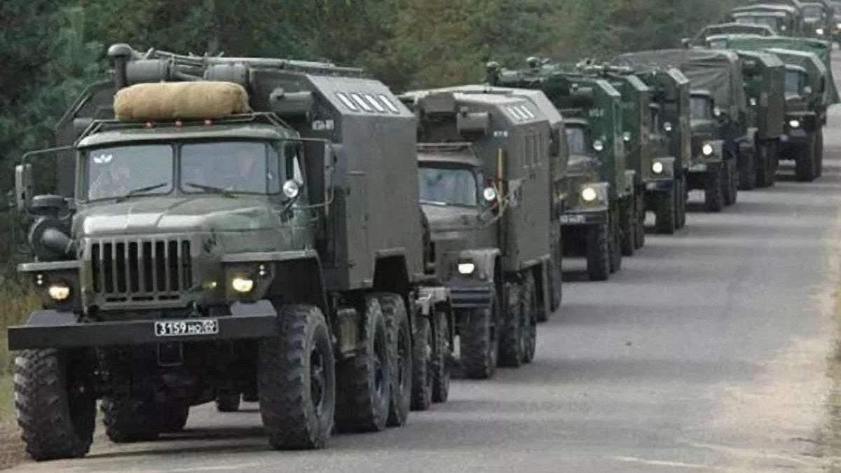 ОБСЕ зафиксировала военную технику на Донбассе у границы с Россией