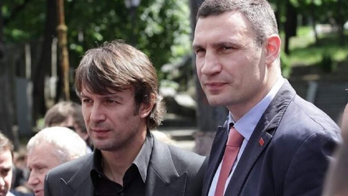 Олександр Шовковський і Віталій Кличко