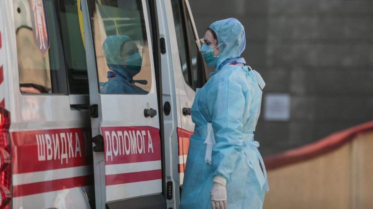 Угрожающая ситуация с COVID-19 в Украине