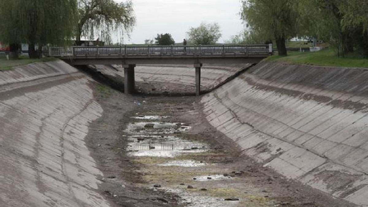 Украина не будет поставлять воду в оккупированный Крым до деоккупации